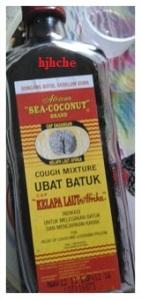 Ubat batuk cap kelapa laut afrika