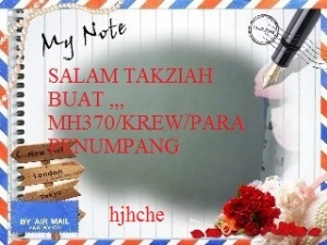 Mh370 dalam ingatan pilu,,