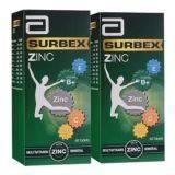 Mvt,Surbex  Zinc ,Plus,dengan 9 vitamin dan 1 Zinc untuk  rasa lebih bertenaga dan minda cergas