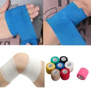 8 warna bandage elastik sendiri lekat tanpa pin?Dijual di Lazada,,