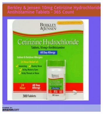 Cetirizine ,tablet ,rawat,gatal kulit,badan