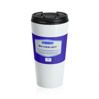 Travel Mug,bersama nota doa dan ingatan makan ubat